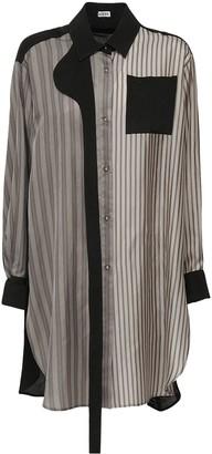 Loewe Striped Light Twill Maxi Shirt