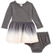 Splendid Infant Girl's Dip Dye Tulle Dress