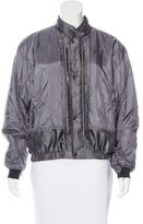 Belstaff Reflective Quilted Bomber Jacket