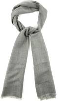 Bottega Veneta Herringbone fine-knit scarf