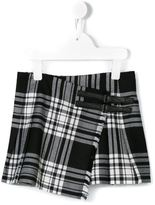 Burberry checked skirt - kids - Cotton/Wool - 4 yrs