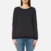 Maison Scotch Women's Crew Neck Sweatshirt Black