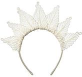 Dotti Lace Leaf Crown Headband