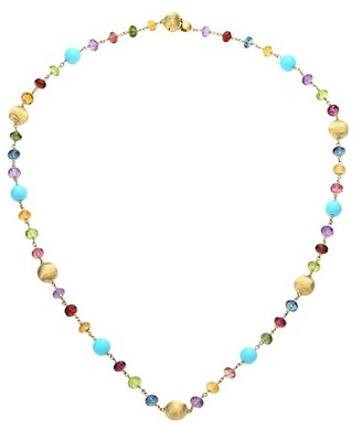 Marco Bicego Africa 18K Gold Multi-Color Gemstone Bead Necklace