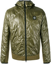 Stone Island padded jacket - men - Cotton/Polyamide/Polyurethane Resin - S