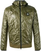 Stone Island Pertex Quantum Y Primaloft jacket - men - Cotton/Polyamide/Polyurethane Resin - S