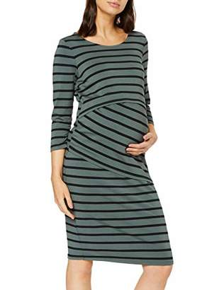 Noppies Women's Dress Nurs Ls Sophia(Size: Medium)