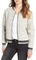 Glamorous Women's Marled Bomber Jacket