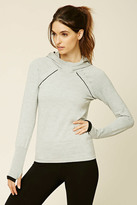 Forever 21 FOREVER 21+ Active Seamless Knit Hoodie