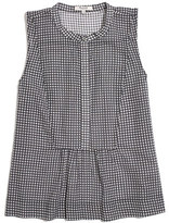 Madewell Shirtfront Tank in Gingham