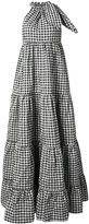 Marques Almeida Marques'almeida - gingham check maxi dress - women - Polyamide/Polyester - XS