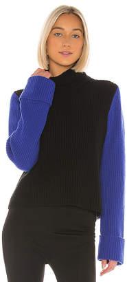 Autumn Cashmere Cuffed Color Block Shaker