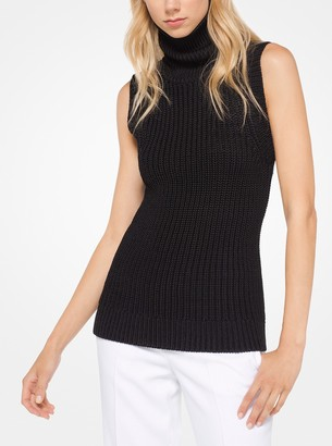 Michael Kors Stretch-Viscose Pullover