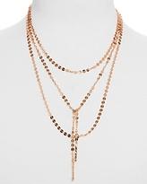 BaubleBar Amber Lariat Necklace, 18
