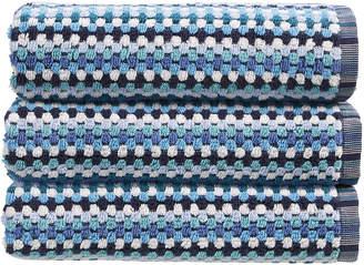 Christy Carnaby Stripe Towel - Blue - Bath