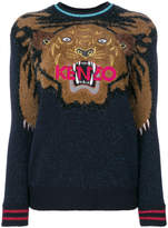 Kenzo embroidered Tiger Christmas jumper