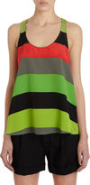 Twelfth St. By Cynthia Vincent by Cynthia Vincen Striped Sleeveless Top