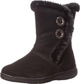 White Mountain Women's Trip Winter Boot, Black, 8.5 US/8.5 M US