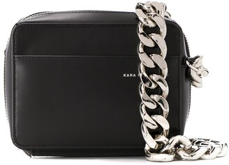 Kara Chunky Chain Cross Body Bag