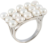 Bella Pearl Pearl & Sterling Silver Cluster Ring