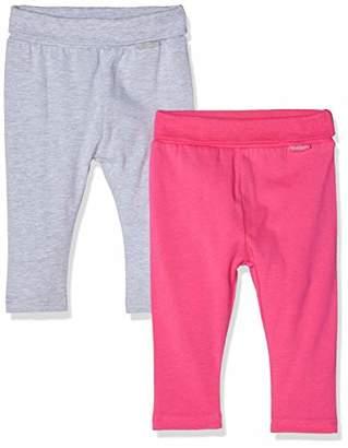 Playshoes Baby Leggings grau Im 2er Pack,(Size: /68) (Pack of 2)
