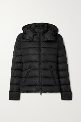 Moncler Teremba Hooded Quilted Econyl Down Jacket - Black