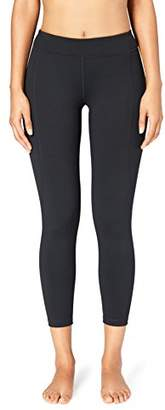Core 10 Amazon Brand Women's 'Build Your Own' Yoga Pant - Medium Waist 7/8 Crop Legging