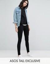 ASOS Tall ASOS TALL High Waisted Leggings In Longer Length
