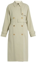 The Row Romtin cotton trench coat
