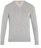 Burberry Randolf V-neck cashmere-blend sweater