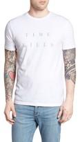 Altru Men's Time Kills Reverse-Print Graphic T-Shirt