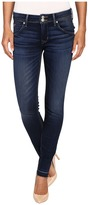 Hudson Collin Mid-Rise Released Hem Skinny w/ Distress in Pin Point