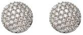 Aspinal of London Pave Dome Diamond Stud Earrings