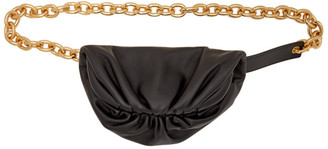 Bottega Veneta Black The Belt Chain Pouch