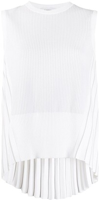 Thom Browne Pleated Back Tank Top