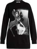 Givenchy Bambi©-print cotton sweatshirt