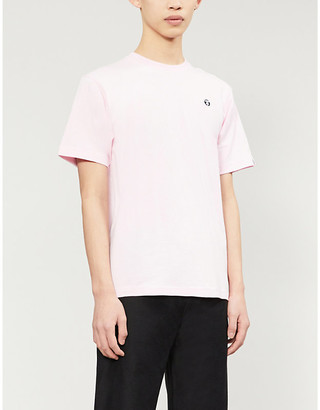 Aape Logo-embroidered cotton-jersey T-shirt