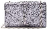 Saint Laurent Small Monogramme Glitter Chain Bag
