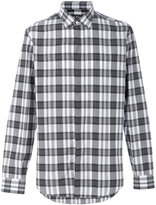Salvatore Ferragamo madras check shirt