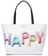 Kate Spade Whimsies Happy Francis Tote - White