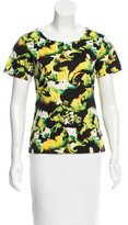 ICB Printed Short Sleeve Top