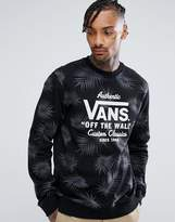 Vans Palm Tree Print Sweatshirt Va314im5