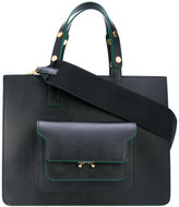 Marni Trunk tote bag - women - Leather - One Size