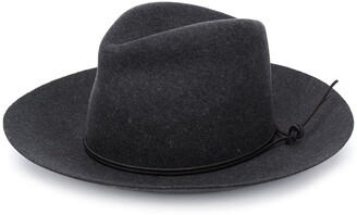 Isabel Marant Tied Detail Fedora Hat