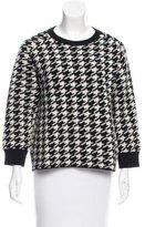 Golden Goose Deluxe Brand Merino Wool Houndstooth Sweater