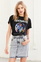 BDG Star Party Embellished Denim Mini Skirt