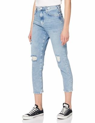 True Religion Women's Halle Momfit Boyfriend Jeans