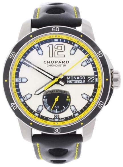 Chopard G.P.M.H Power Control Chronometer Titanium & Steel Mens Watch