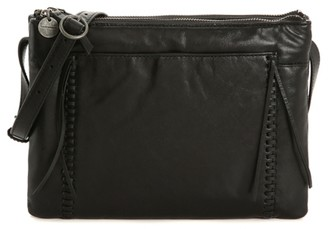 Lucky Brand Sebb Leather Crossbody Bag