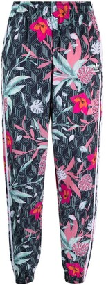 adidas Floral-Print Track Pants